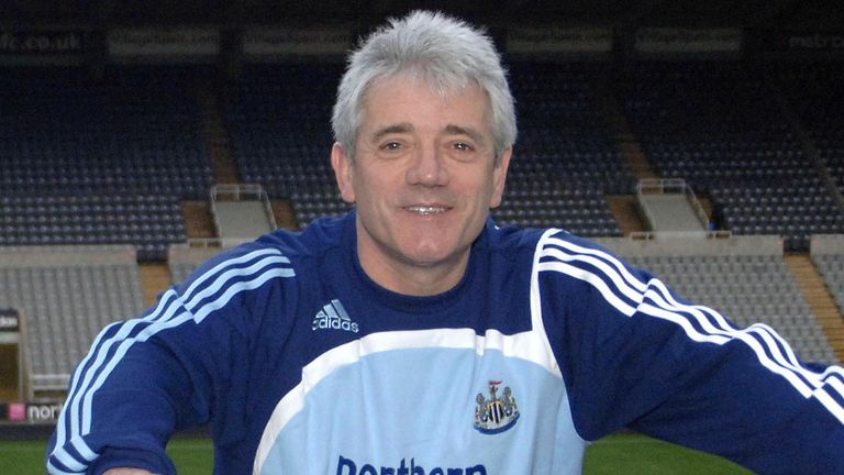 Kevin Keegan returned for a second spell on Tyneside in January 2008 - but it didn't last long