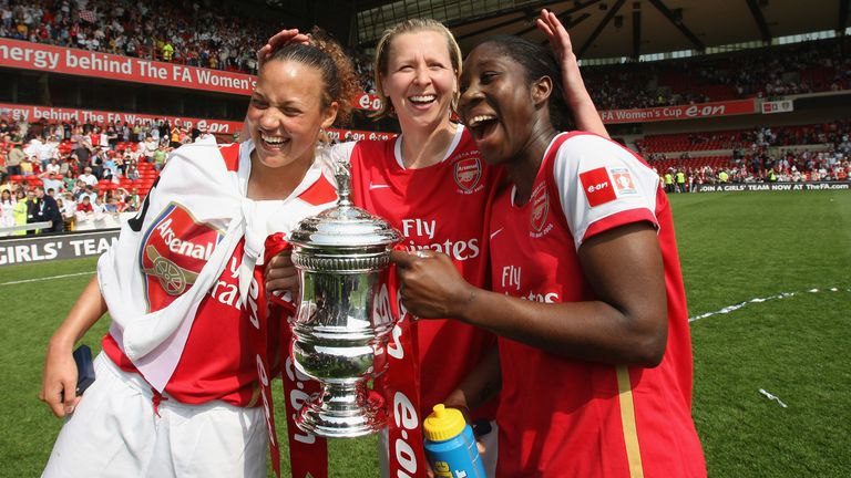 Asante left Arsenal for the US after the club's league and FA Cup double in 2007/8