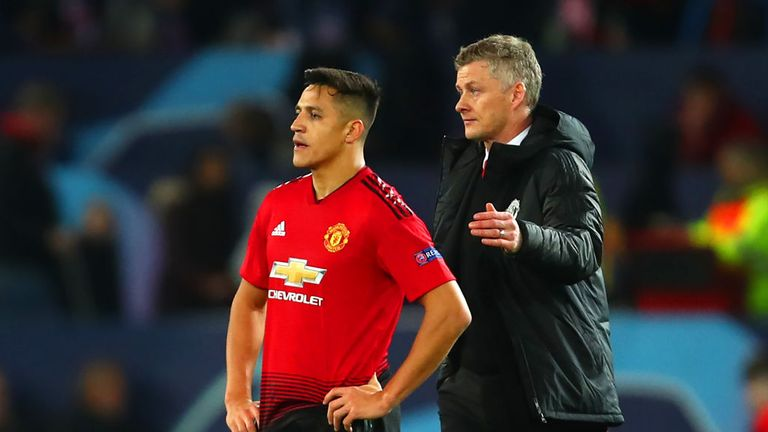 Sanchez has failed to impress at United since arriving from Arsenal