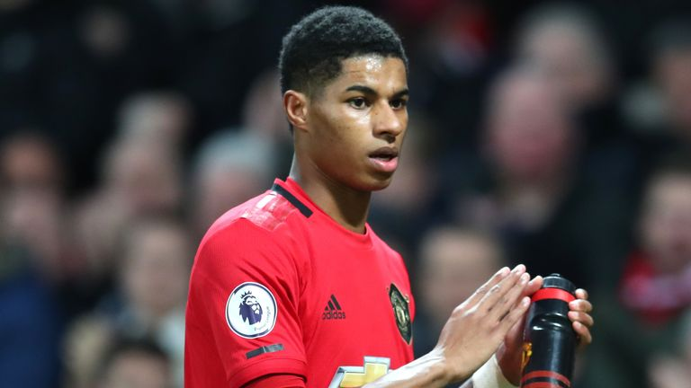 Giggs singled out Marcus Rashford for praise from his former team