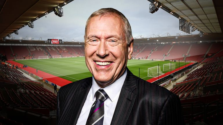 Martin Tyler's first ever commentary was a Southampton match