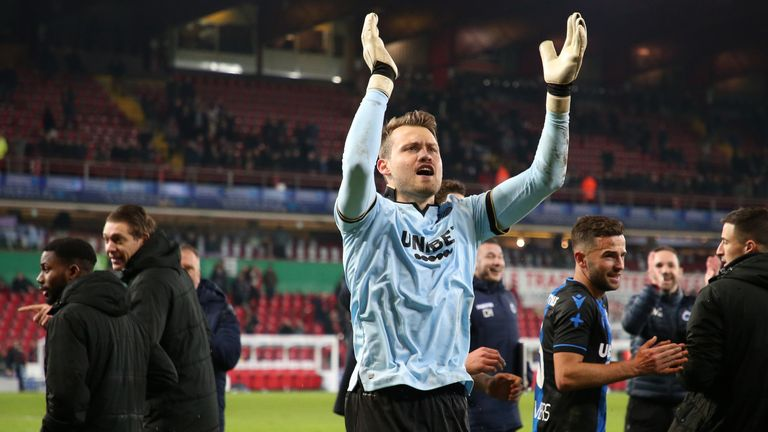 Club Brugge would be champions if the current Belgian results were declared final