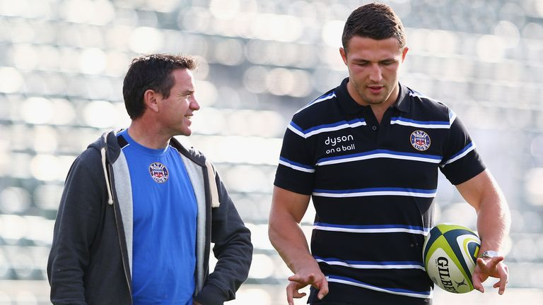 The relationship between Sam Burgess and Mike Ford broke down during the 2015 Rugby World Cup