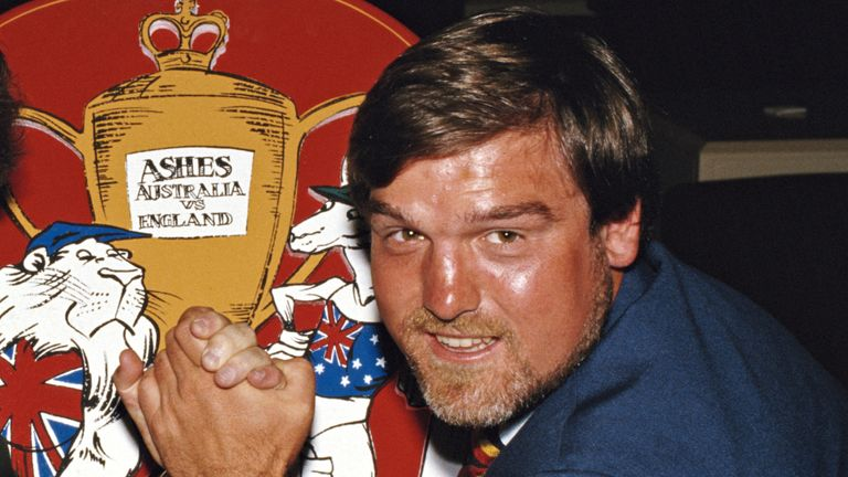 Mike Gatting captained England to an Ashes win in Australia in 1986-87