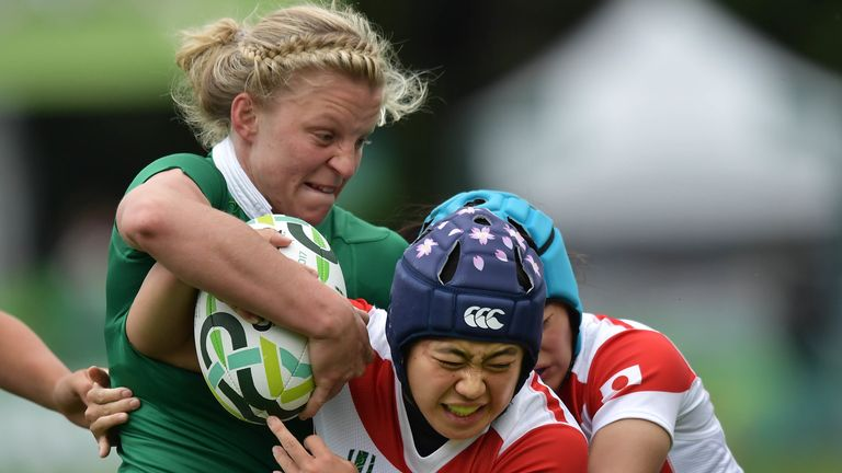 Molloy has combined a career at the very top of women's rugby with a fast-paced medical one