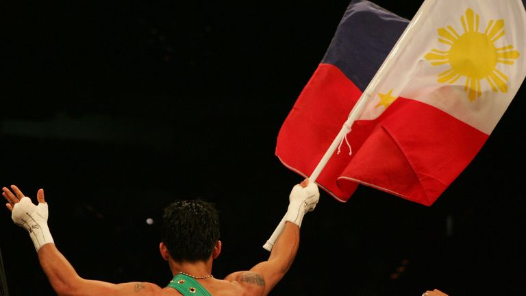 Pacquiao is a national hero