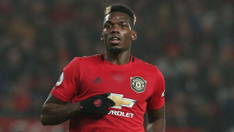 Paul Pogba's £34m fortune earns him a high spot on sport's Young Rich List