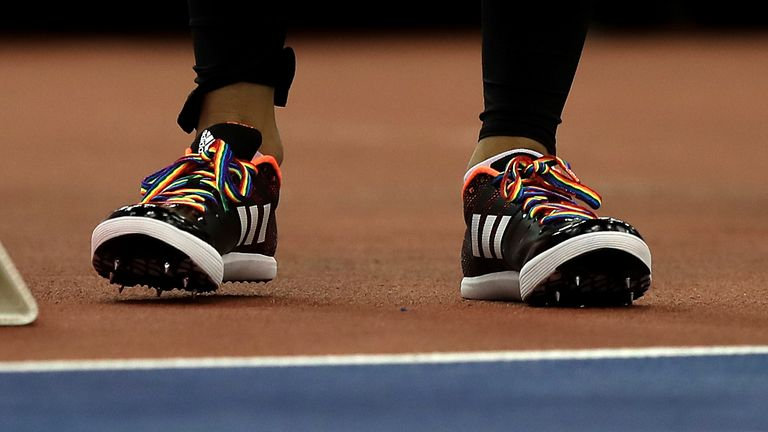 British Athletics announced its support for Stonewall's Rainbow Laces campaign in February 2018