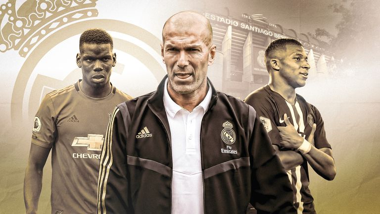 Real Madrid head coach Zinedne Zidane will be considering his options