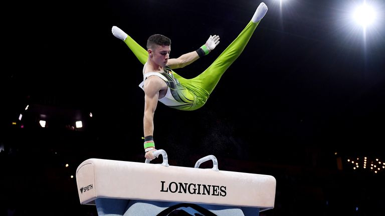 McClenaghan has a live medal chance in the pommel horse discipline