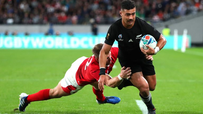 Richie Mo'unga brings a strong, all-round game to the team