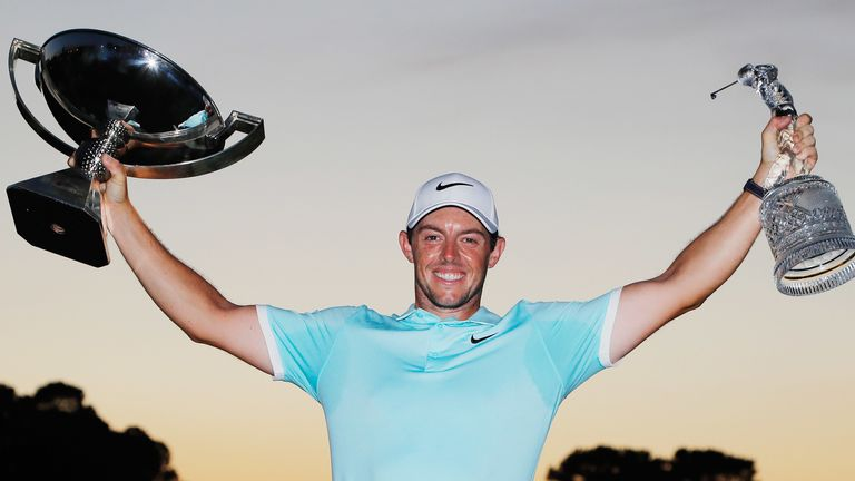 McIlroy is a two-time winner of the FedExCup