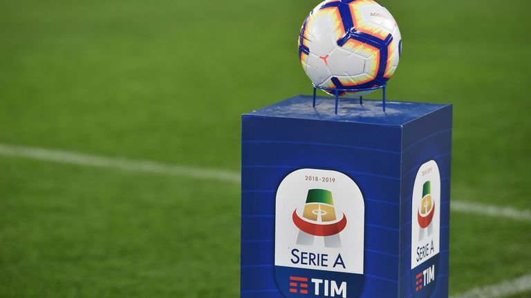 Serie A was the first of Europe's major leagues to be affected by the coronavirus pandemic