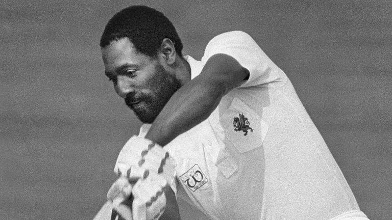 Viv played at Taunton between 1974 and 1986