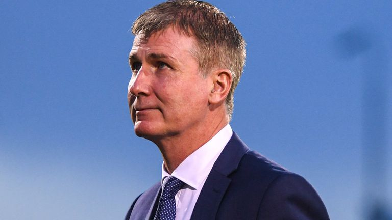 Stephen Kenny will begin his role with Republic of Ireland's senior side in Sofia