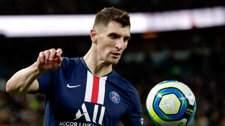 Thomas Meunier appears set to leave PSG at the end of the season