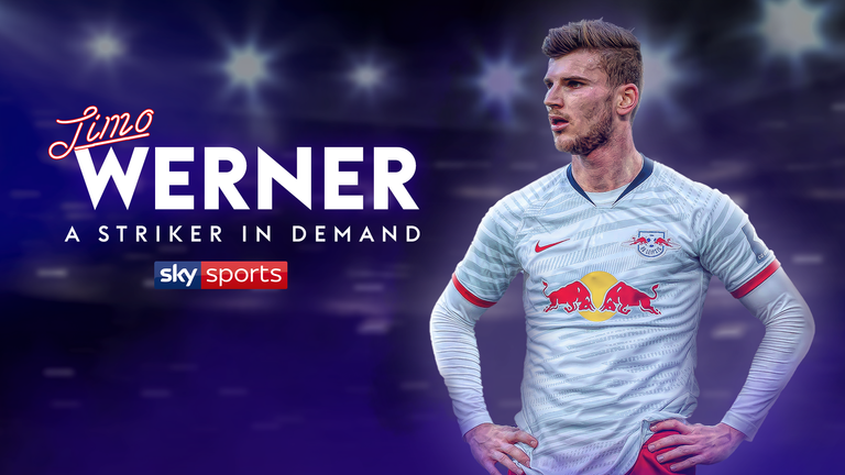 Timo Werner has scored 30 goals for RB Leipzig this season