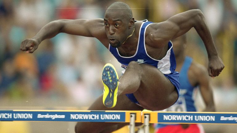 Tony Jarrett was one of Britain's leading track athletes in the 1990s