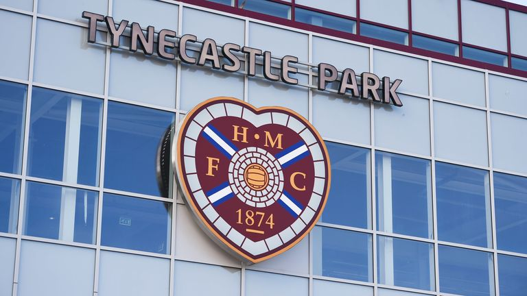 Hearts will be playing in the Championship this season