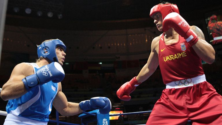 Russo and Usyk fought at two Olympics, winning once each