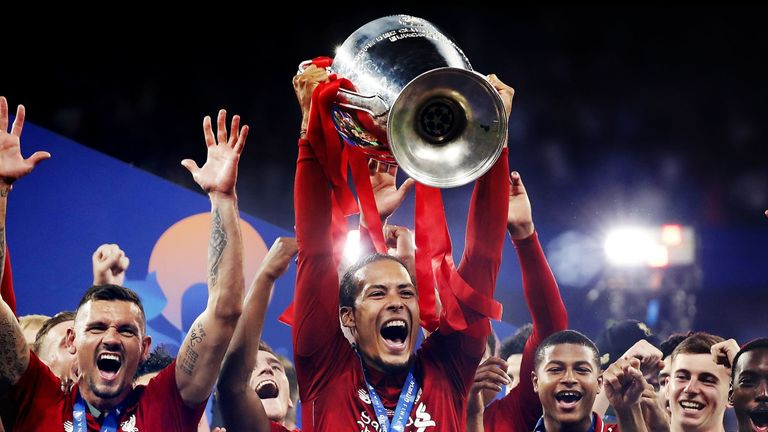 Liverpool won the Champions League after victory in the 2019 final against Tottenham