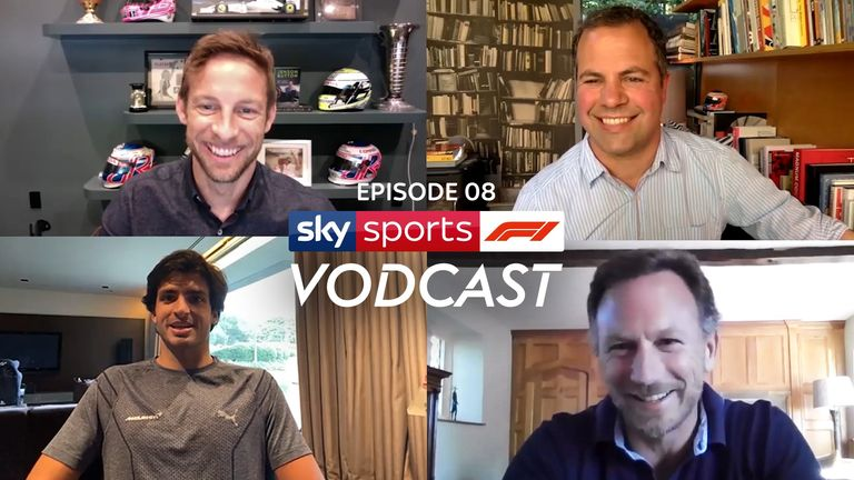 How does an F1 driver spend his time at home? And could the 2020 season start in Austria behind closed doors? McLaren' driver Carlos Sainz and Red Bull boss Christian Horner join Jenson Button, Ted Kravitz and Simon Lazenby on the latest Sky F1 Vodca