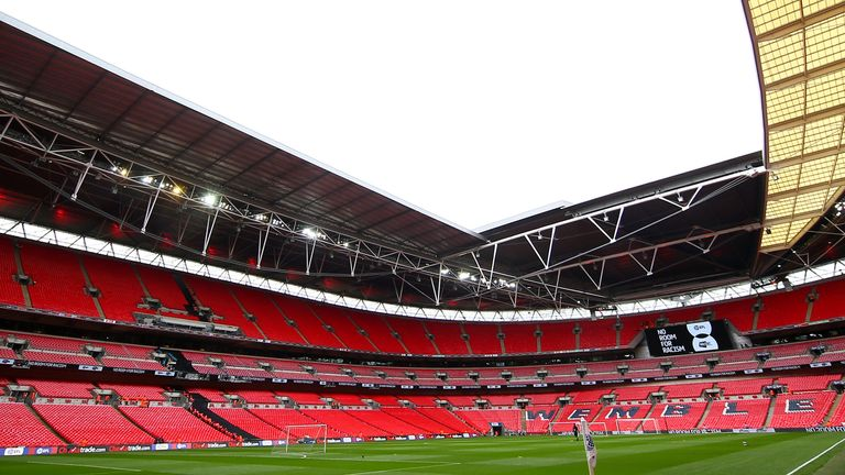 Wembley will host the semi-finals and finals of Euro 2020