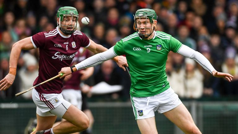 O'Donoghue in action against Galway in February