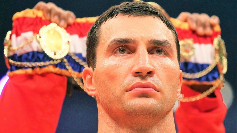 Klitschko was ready to offer a world heavyweight title fight, says Sprott