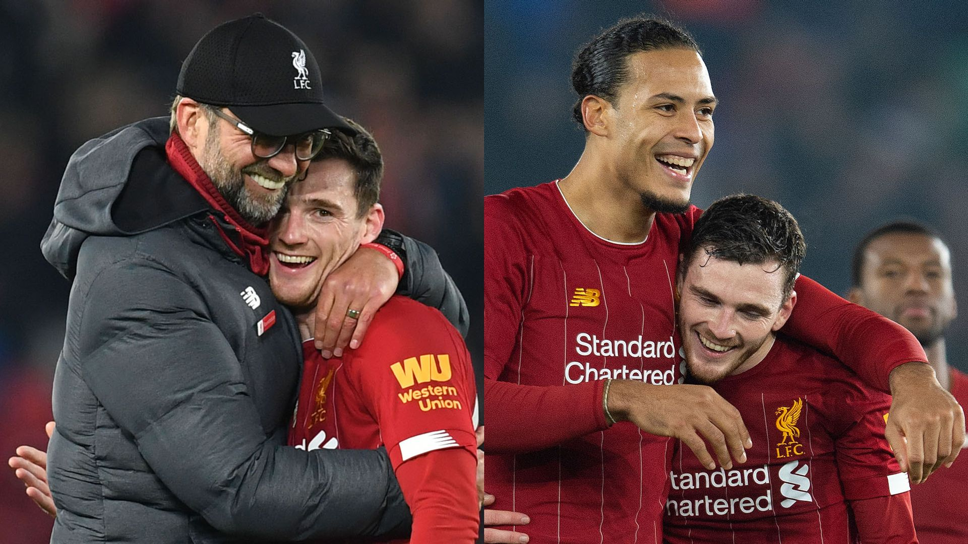 Robertson: Van Dijk and Klopp best in the world