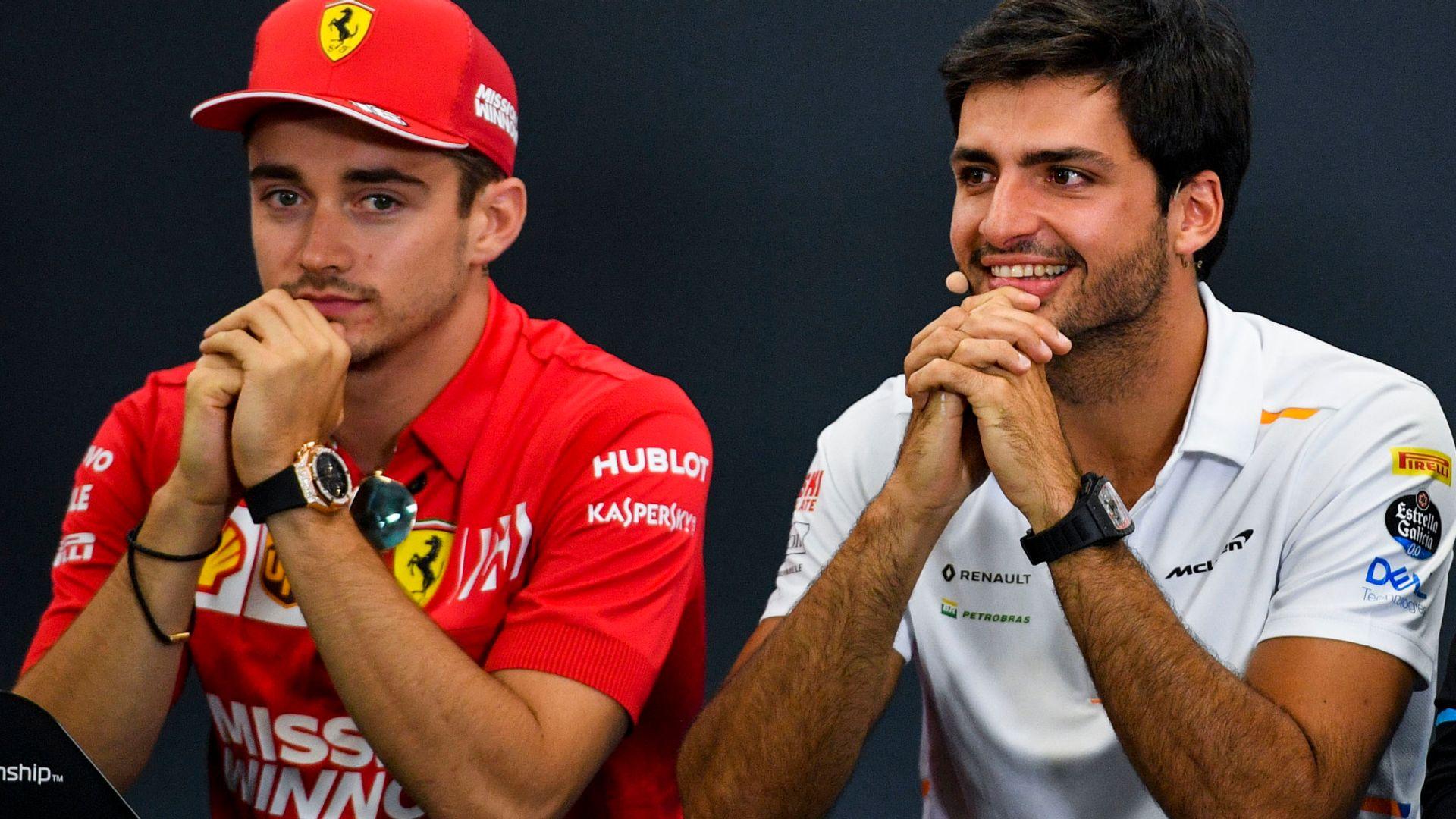 Button, McLaren back Sainz to be Ferrari hit