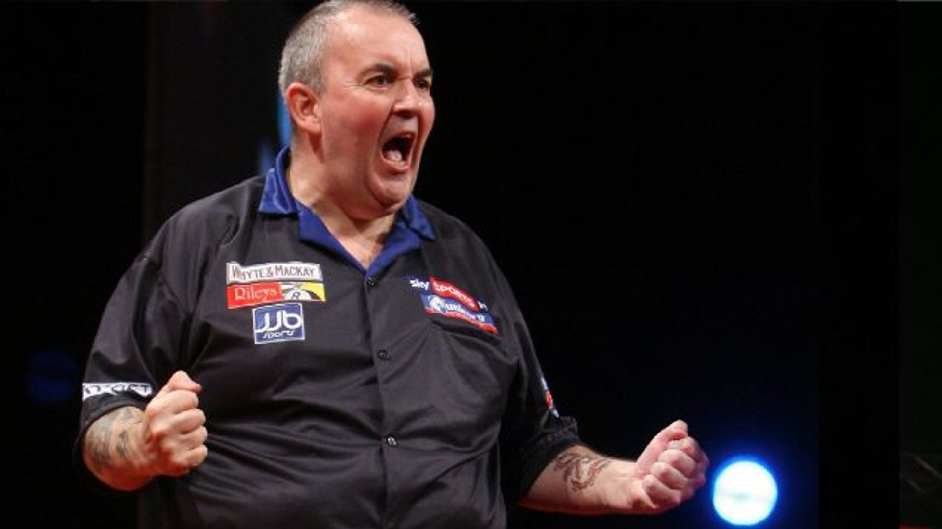 The legend of Taylor's double nine-darter