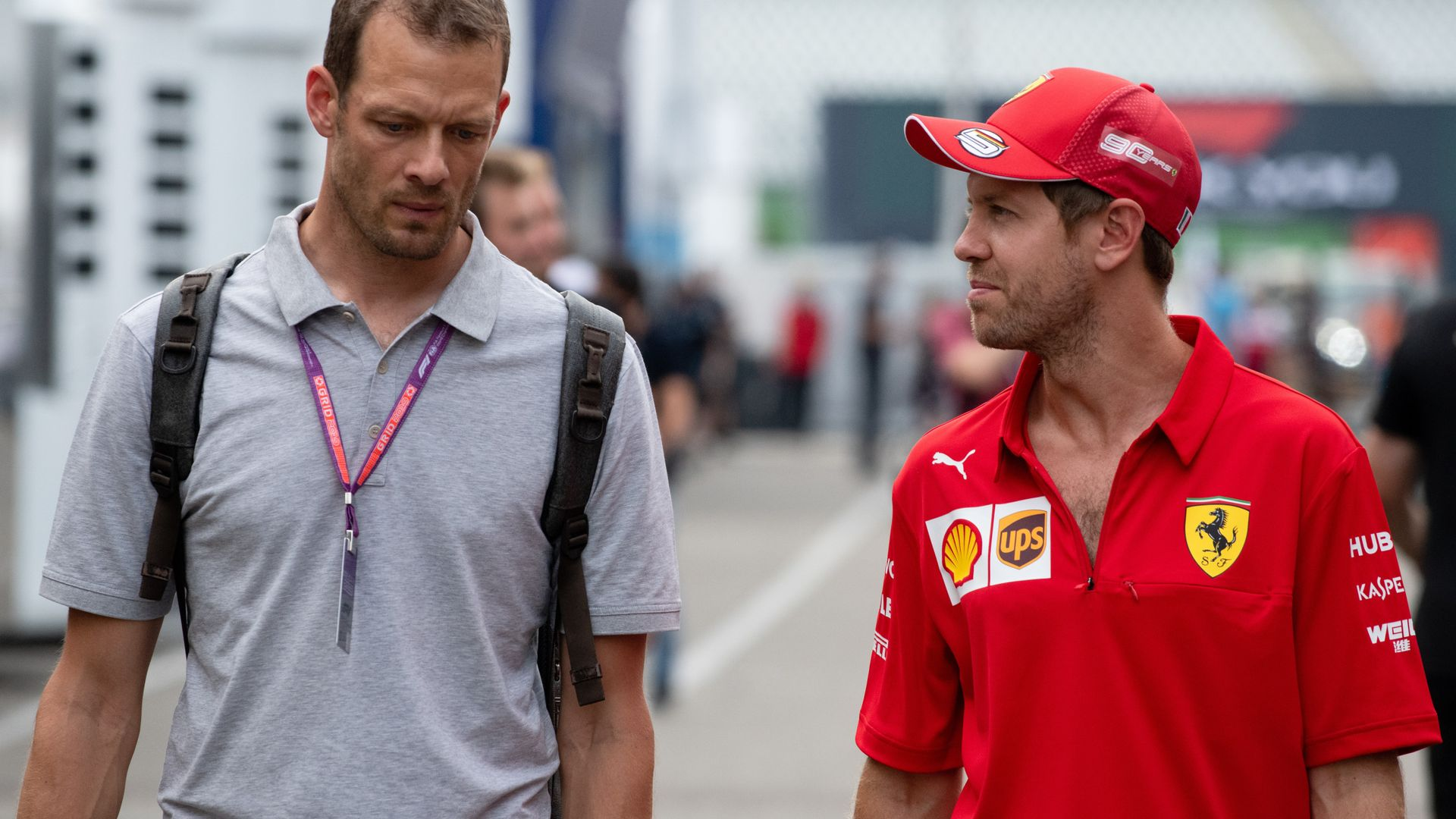 Was Vettel 'burnt out' at Ferrari?