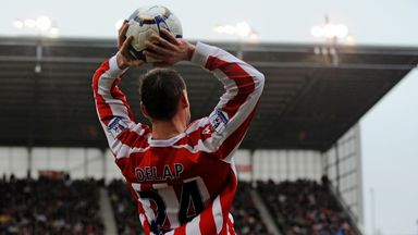 fifa live scores - Stoke City: How Rory Delap's 'undefendable' long throws caused Premier League chaos
