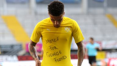 Rashford joins Sancho in support for George Floyd