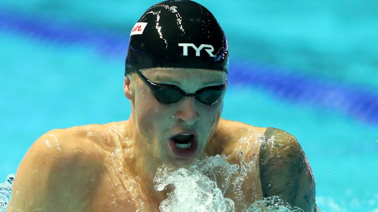 Olympic gold medallist Adam Peaty says he can go even faster and will target a new 100m world record at next summer's Olympic Games in Tokyo
