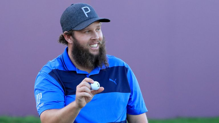 Andrew 'Beef' Johnston heads a star-studded field
