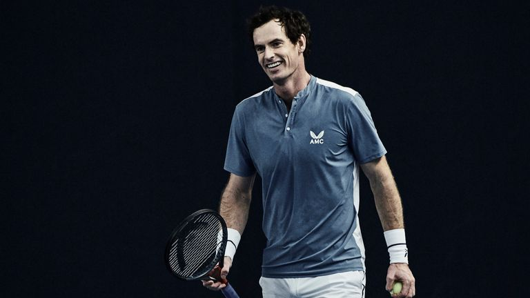 Andy Murray begun practising again in May when lockdown restrictions were lifted