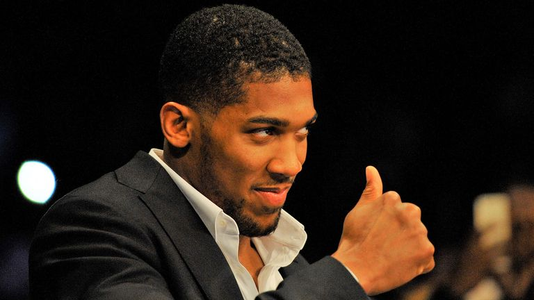 Joshua is one of many high-profile figures who endorsed and backed the Youth Sport Trust's initiative