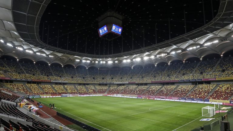 Romania's Arena Nationala is set to host three group games and a round-of-16 match at Euro 2020