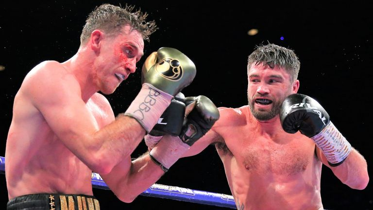 Callum Smith edged John Ryder in a world title fight last year