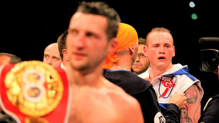 Groves would later win a world title after Froch had retired