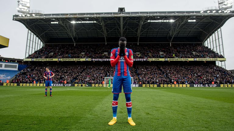 It could be some time before Palace return to playing at Selhurst Park