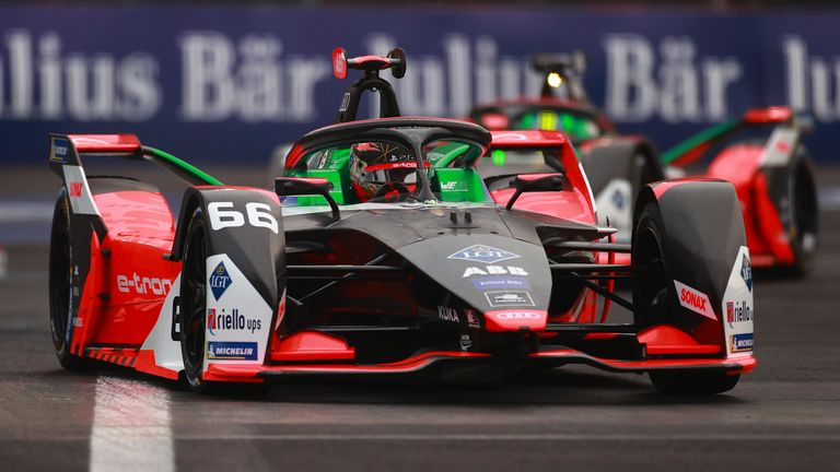 Abt had driven for Audi Sport in the 2019-20 Formula E season before it was suspended because of the coronavirus