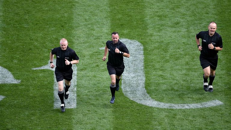 GAA officials are staying in shape, all for a good cause