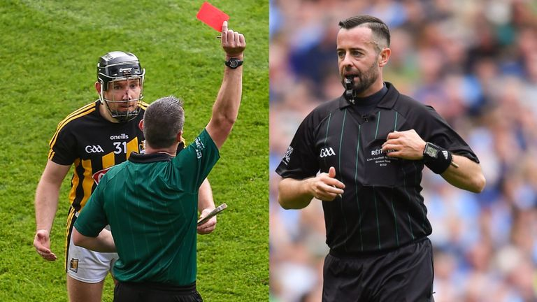 David Gough analysed James Owens' performance in last August's hurling decider before he oversaw the football showpiece