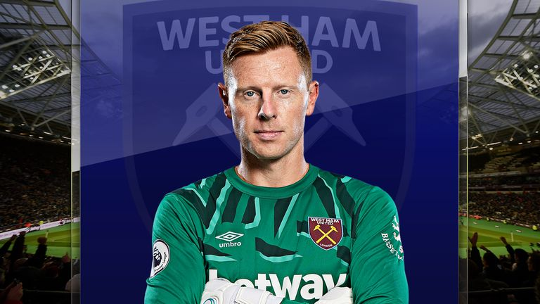 David Martin made his West Ham debut at the age of 33 in November