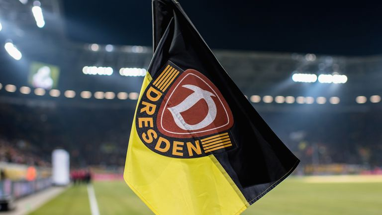 Dynamo Dresden had been set to return to Bundesliga 2 action on May 17