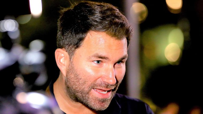Eddie Hearn could be involved in a new boxing computer game