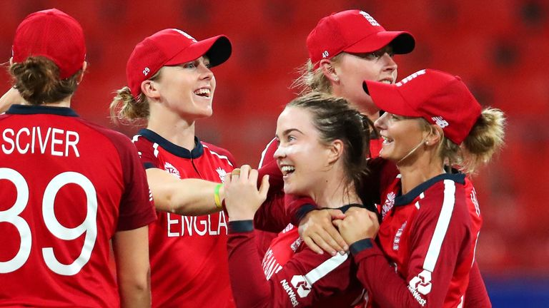 England Women reached the semi-finals of the 2020 T20 World Cup